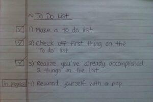 How do you do your to do